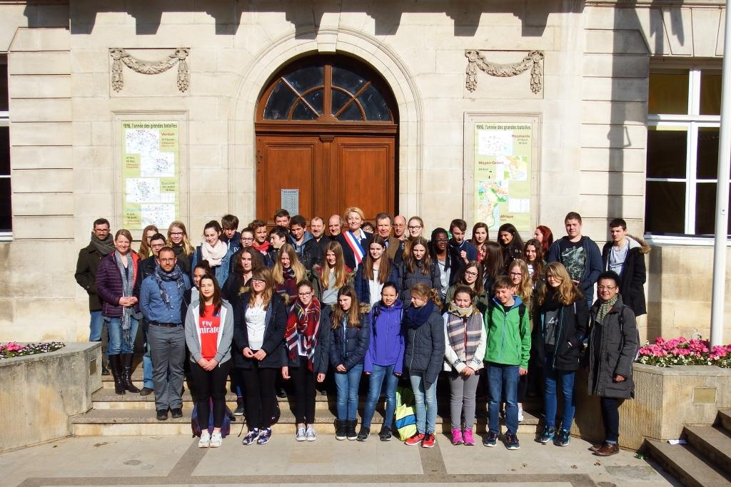 echangeCollegeUbstadt mars2016 photoGroupe
